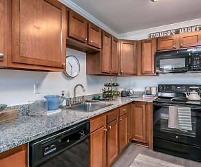 Kitchen, Tremont at 22 Apartments
