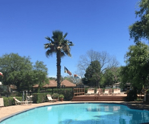 Pool, Oyster Creek Apartments