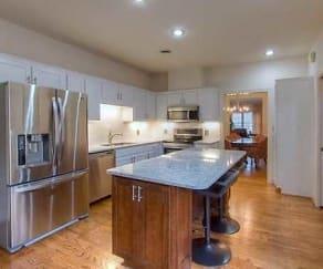 Kitchen, Flats at Spring Creek