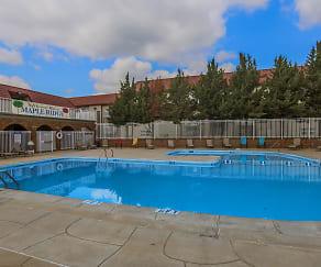 Pool, Maple Ridge Apartments