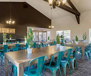 Dining Room, Alpine Village Apartments