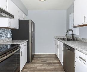 Kitchen, Tanque Verde Apartment Homes