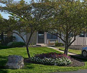 Landscaping, Camellia Court