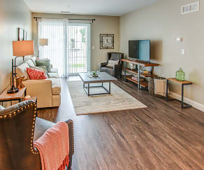 Living Room, The Kinloch Apartments