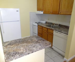 Kitchen, Heritage House Apartments