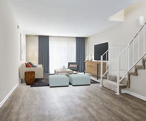 Living Room, Avalon Woodland Hills