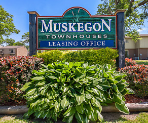 Community Signage, Muskegon Townhouses