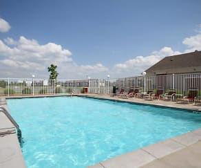 Pool, Valley View Apartments