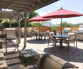 Patio / Deck, Hillside Terrace Apartments