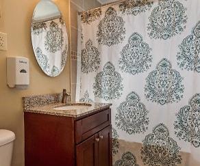 Bathroom, Arbors at Franklin Township