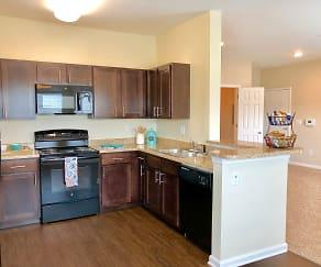 Kitchen, Fieldstone Apartment Homes