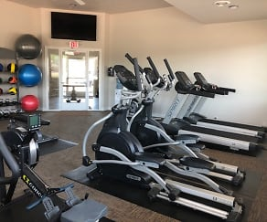 Fitness room, Sand Lake Apartments
