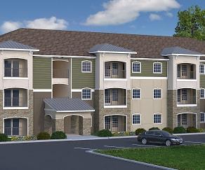 Rendering, Lone Oak Apartments
