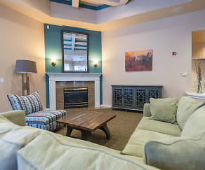 Living Room, Forestview Apartments