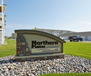 Community Signage, Northern Plains Apartments