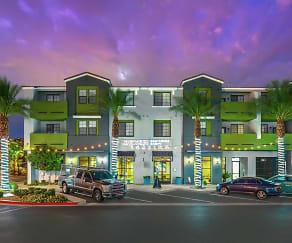 Building, Spectrum Apartments