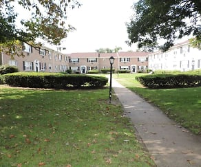 Courtyard, Township Village Apartments