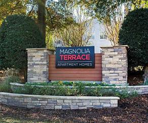Community Signage, Magnolia Terrace