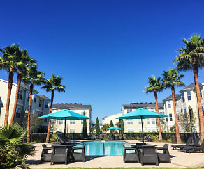 Pool, Towne West Apartments