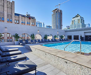 Pool, Broadway Palace Apartments