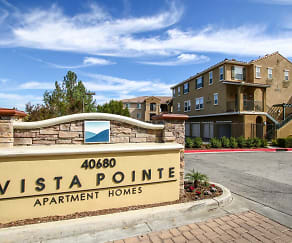 Community Signage, Vista Pointe Luxury Apartment Homes