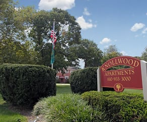 Community Signage, Knollwood Apartments