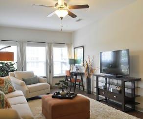 Living Room, Thomaston Crossing Apartment Homes