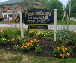 Community Signage, Franklin Village Apartments