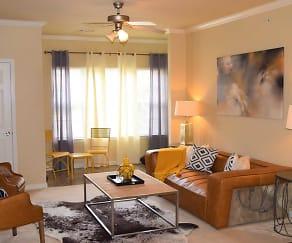 Living Room, Lexington Park Apartments