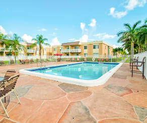 Pool, Windsor Forest Apartments