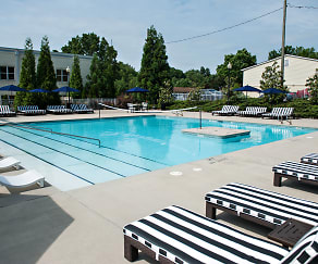 Pool, The Vic Student Apartments - Per Bed Lease