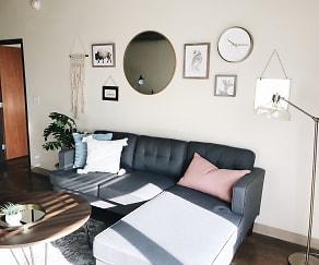 Living Room, SGC Apartments