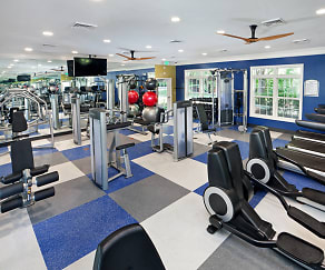 Fitness Weight Room, Addison At Swift Creek