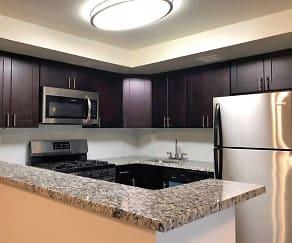 Kitchen, Woodbourne Apartments