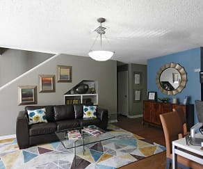 Living Room, Bellaria Townhomes