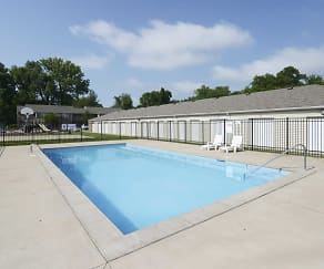 Pool, Canterbury House Apartments