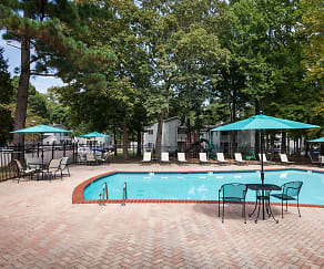 Swimming Pool with Brick Sundeck, Four Seasons