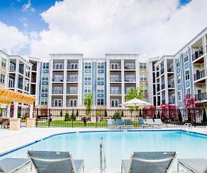 Pool, The Flats at Austin Landing