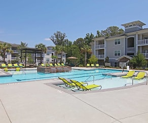 Pool, Ansley Commons Apartments