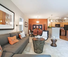 Living Room, The Elms At Clarksburg Village