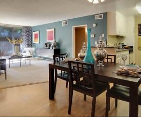 Dining Room, Covina Grand