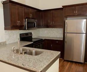 Kitchen, Chatham Lofts