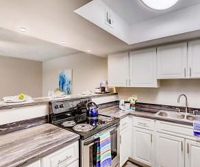Kitchen, V Lane Apartments