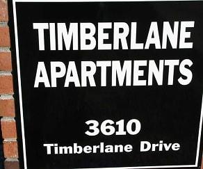 Community Signage, 3610 Timberlane Drive Apartments
