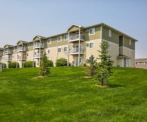 Building, Timber Trails Apartments