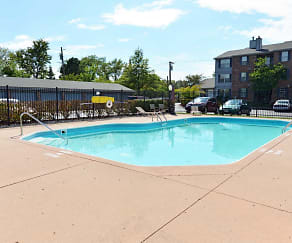 Pool, Carriage Hill Condos and Apartments
