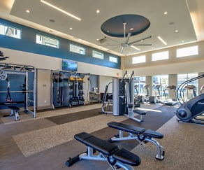 Fitness Weight Room, The CORE at Sycamore Highlands