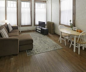 Living Room, Downtown Historic with Olympus