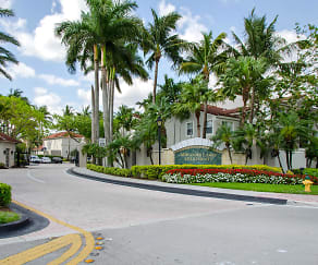 Front Entrance, Miramar Lakes Apartments