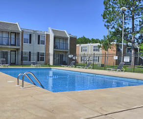 Pool, Regency Woods Apartments